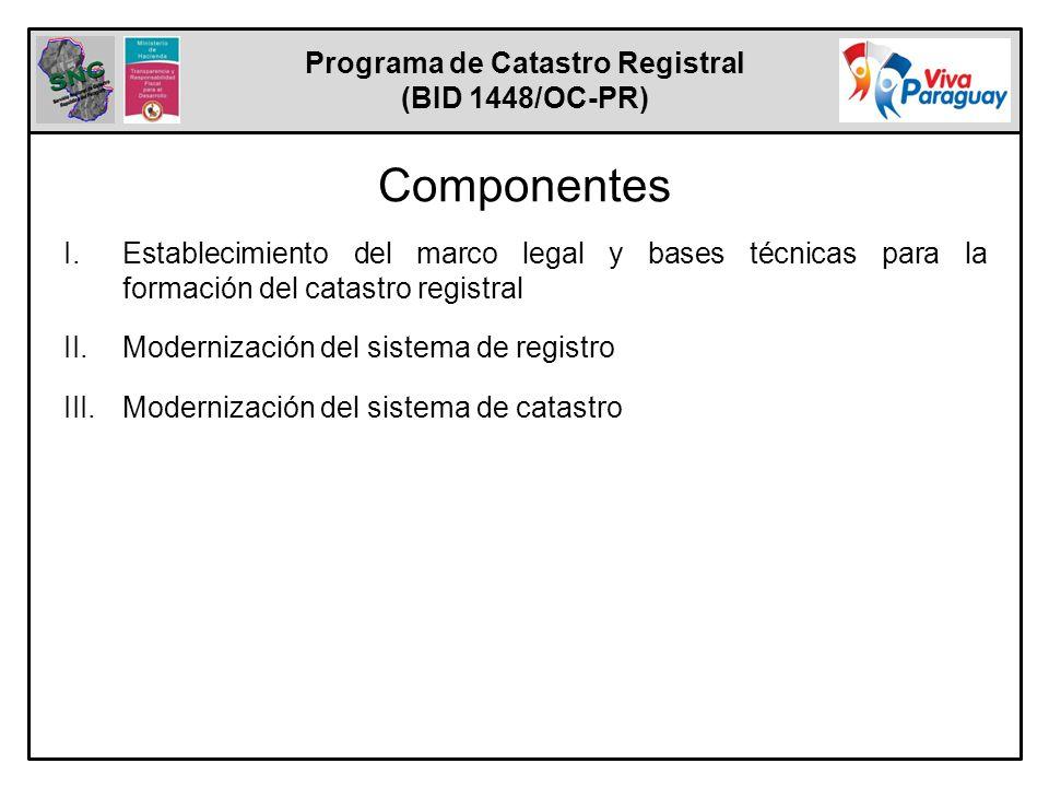 Programa de Catastro Registral