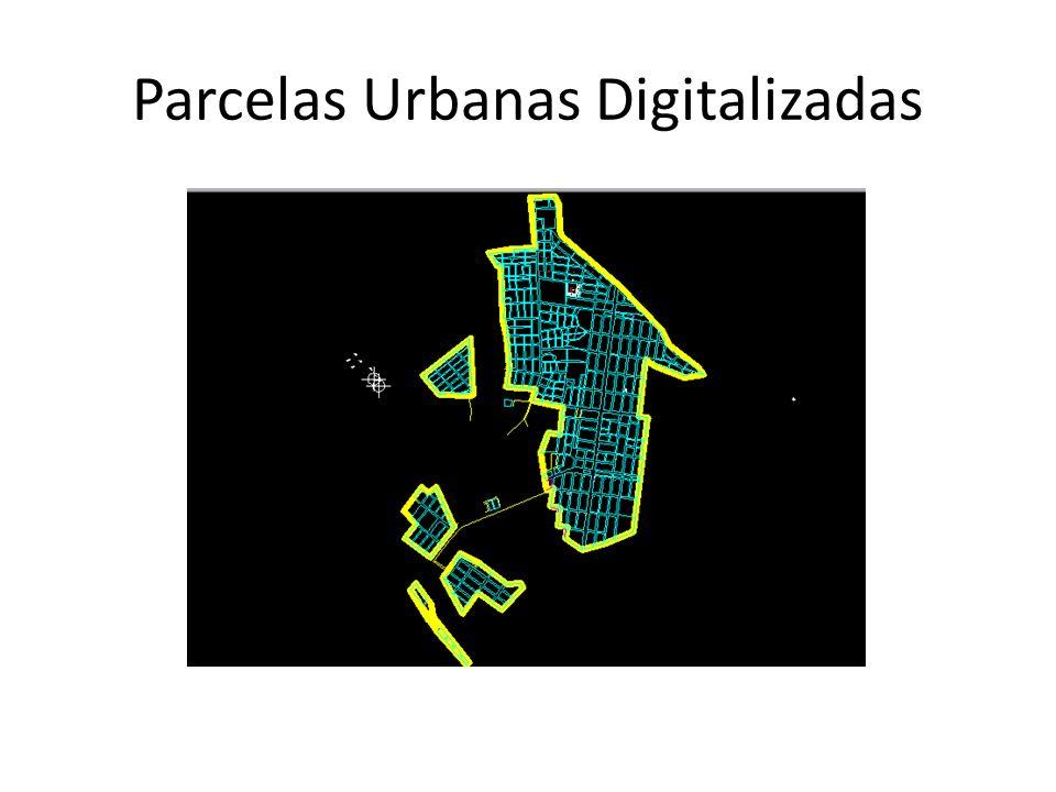 Parcelas Urbanas Digitalizadas