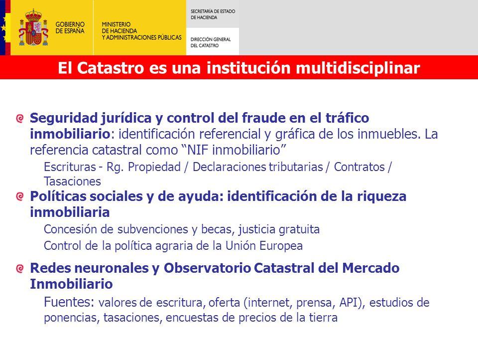 El Catastro es una institución multidisciplinar
