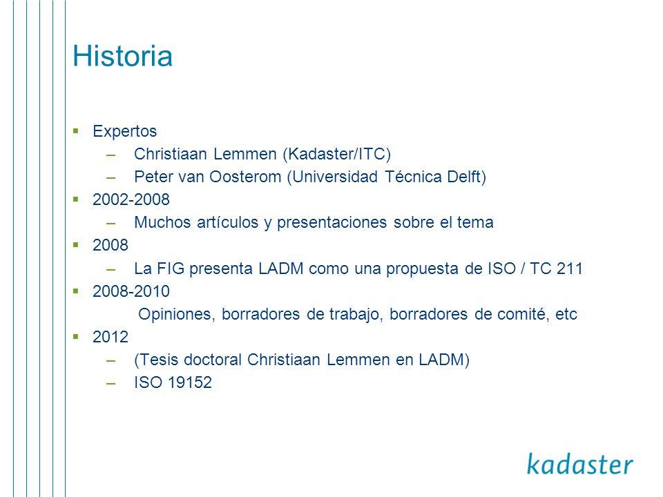 Historia Expertos Christiaan Lemmen (Kadaster/ITC)