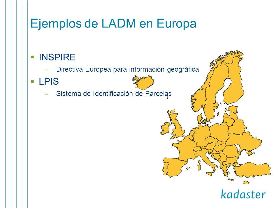Ejemplos de LADM en Europa