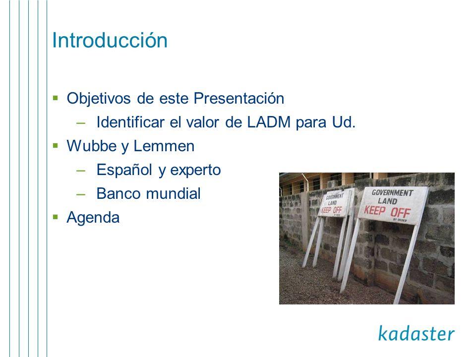 Introducción Objetivos de este Presentación