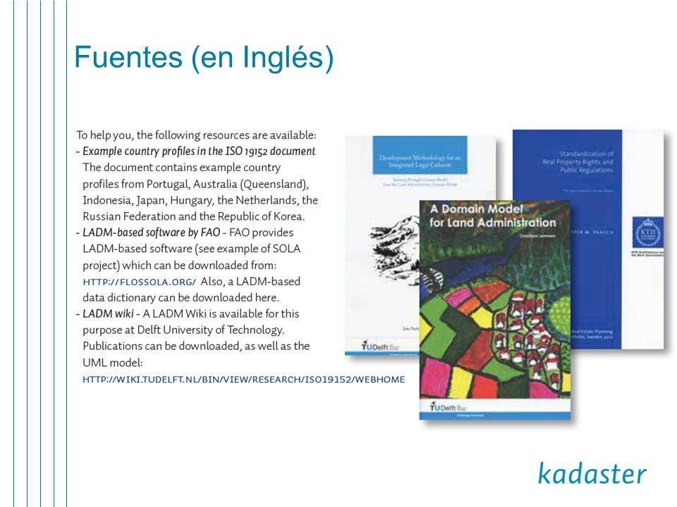 Fuentes (en Inglés)
