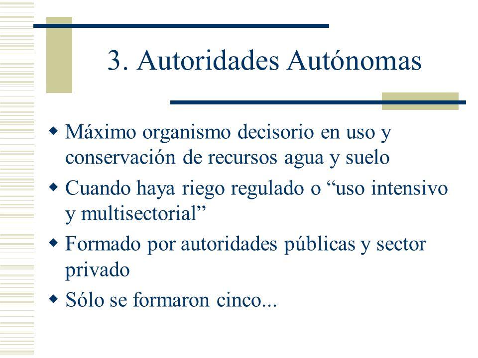 3. Autoridades Autónomas