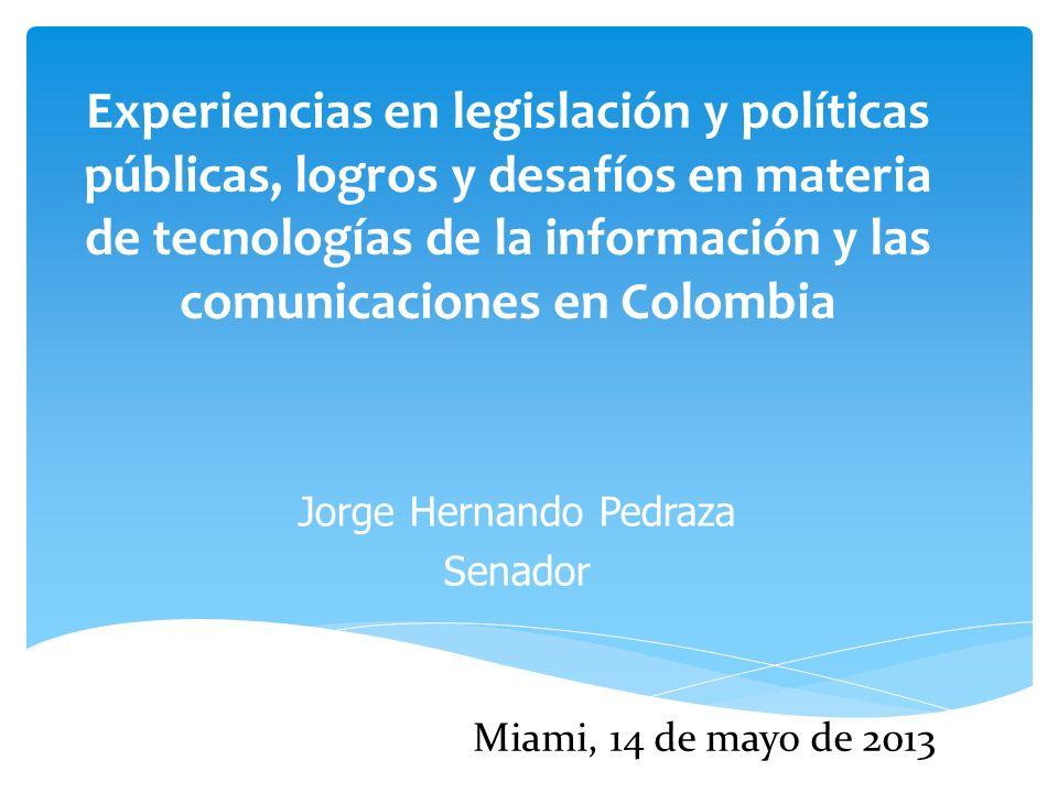 Jorge Hernando Pedraza Senador