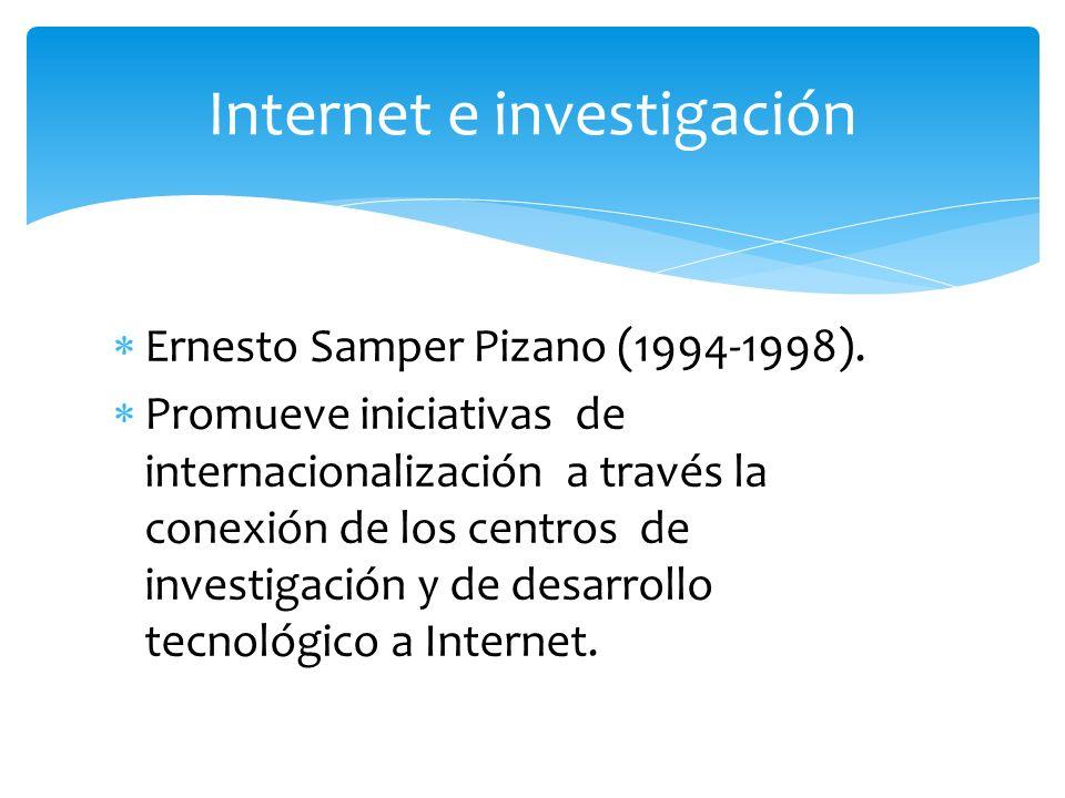 Internet e investigación
