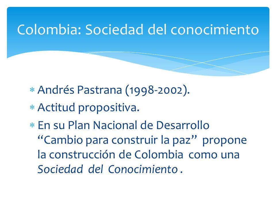 Colombia: Sociedad del conocimiento