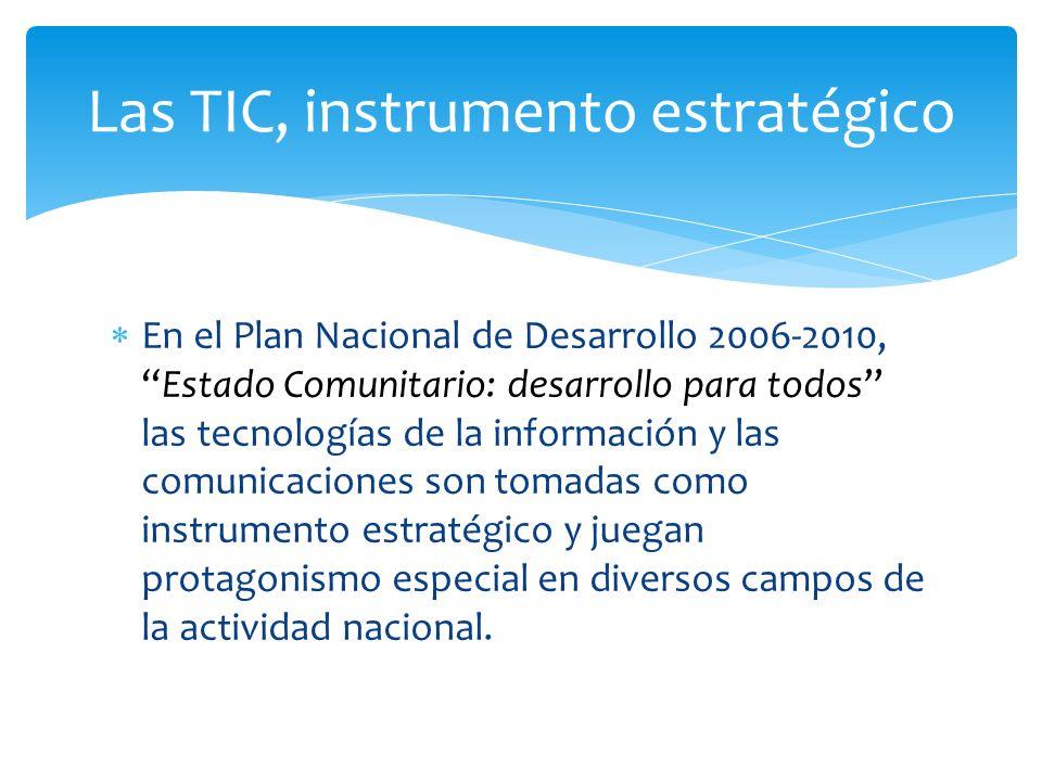 Las TIC, instrumento estratégico