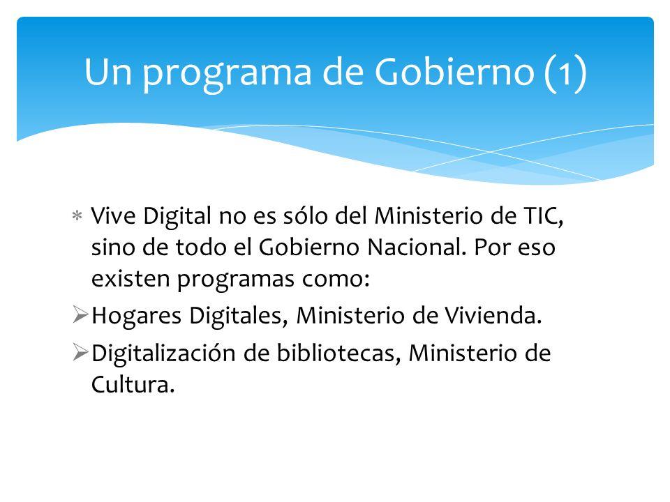 Un programa de Gobierno (1)