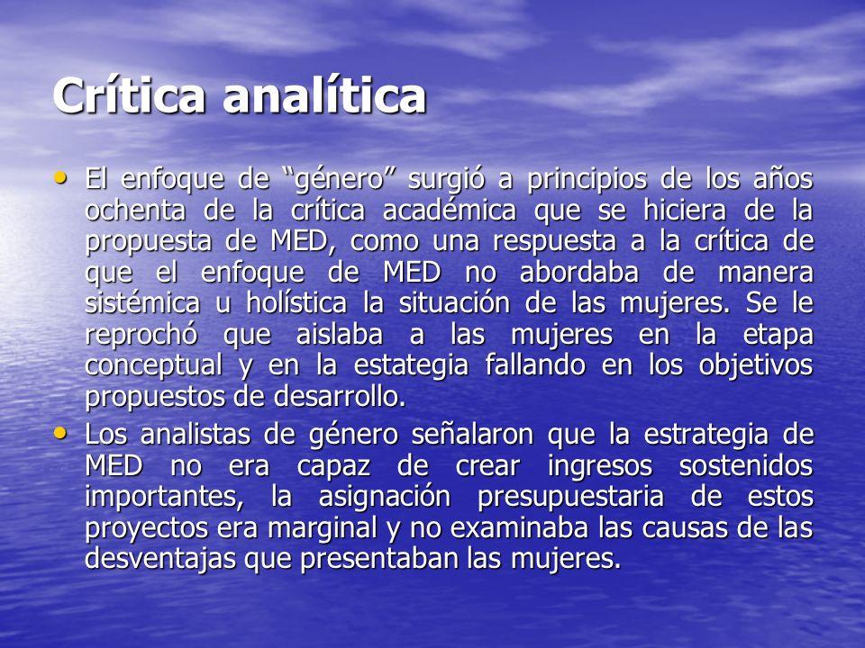 Crítica analítica