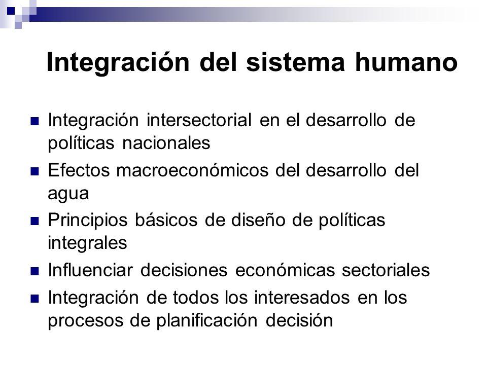 Integración del sistema humano