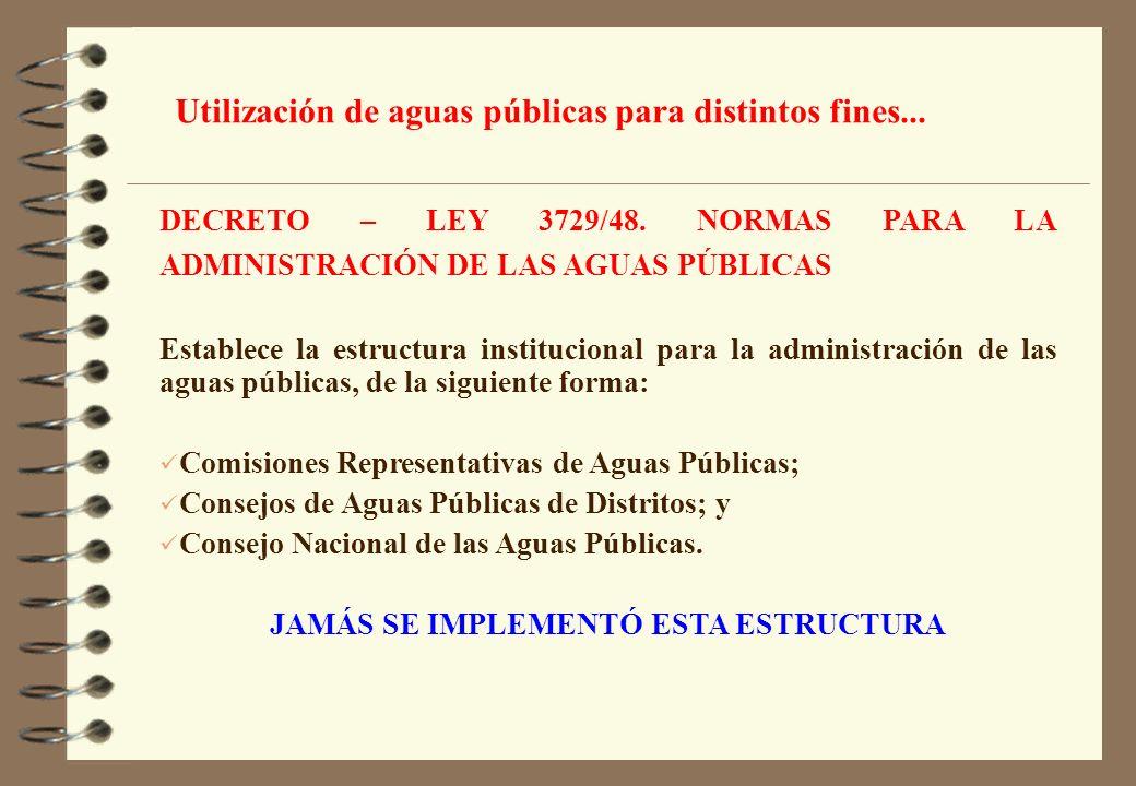 JAMÁS SE IMPLEMENTÓ ESTA ESTRUCTURA