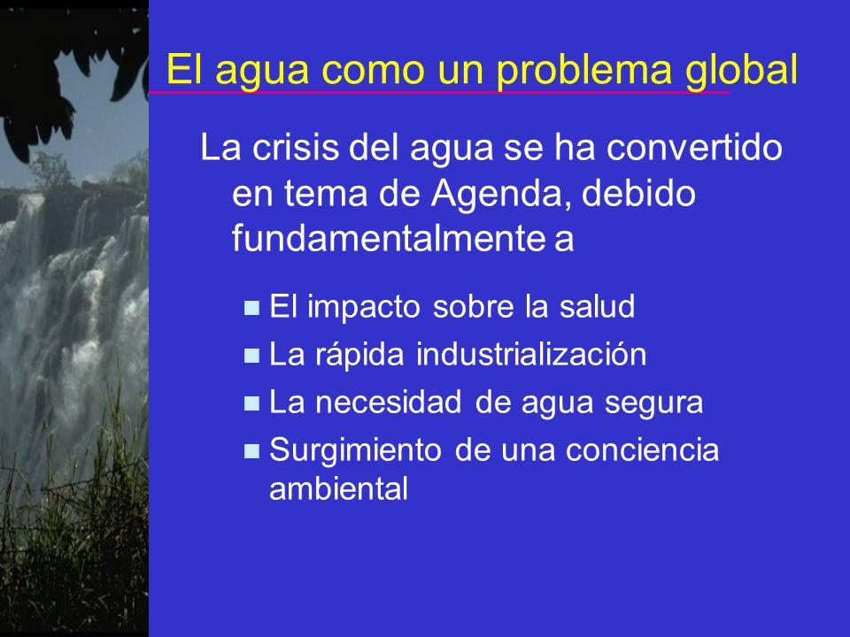 El agua como un problema global