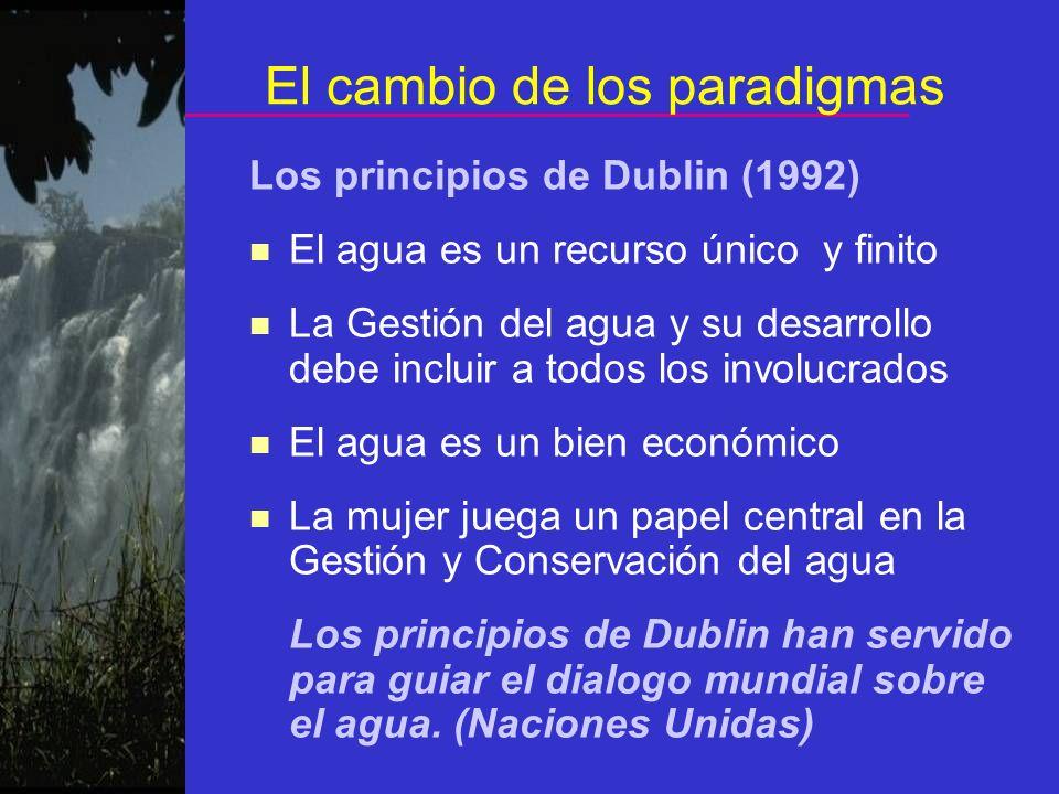El cambio de los paradigmas