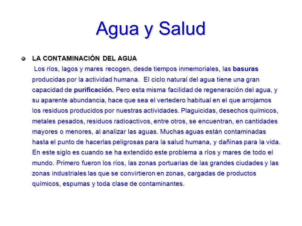 Agua y Salud
