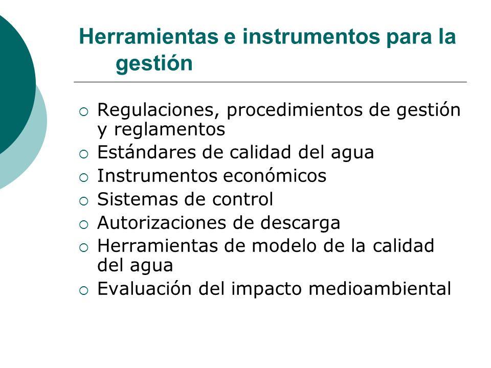 Herramientas e instrumentos para la gestión