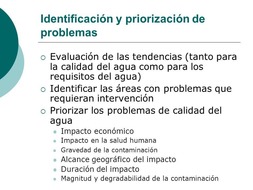 Identificación y priorización de problemas