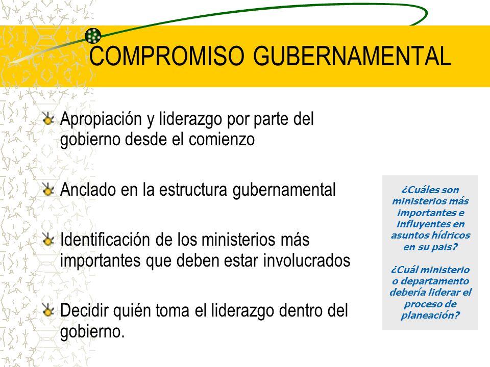 COMPROMISO GUBERNAMENTAL