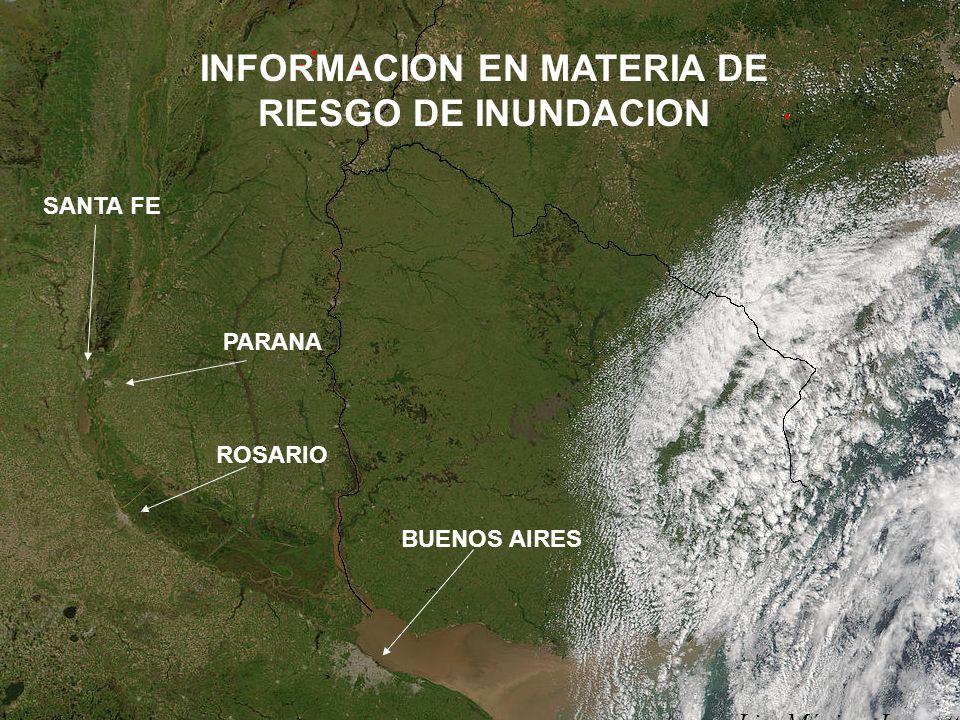 INFORMACION EN MATERIA DE RIESGO DE INUNDACION