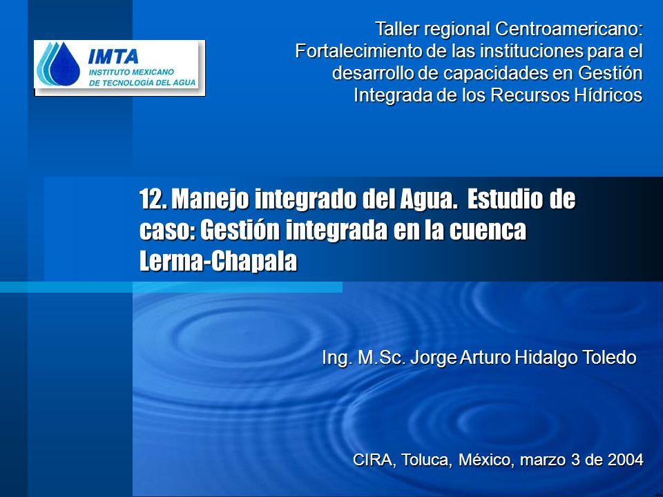 Taller regional Centroamericano: Fortalecimiento de las instituciones para el desarrollo de capacidades en Gestión Integrada de los Recursos Hídricos