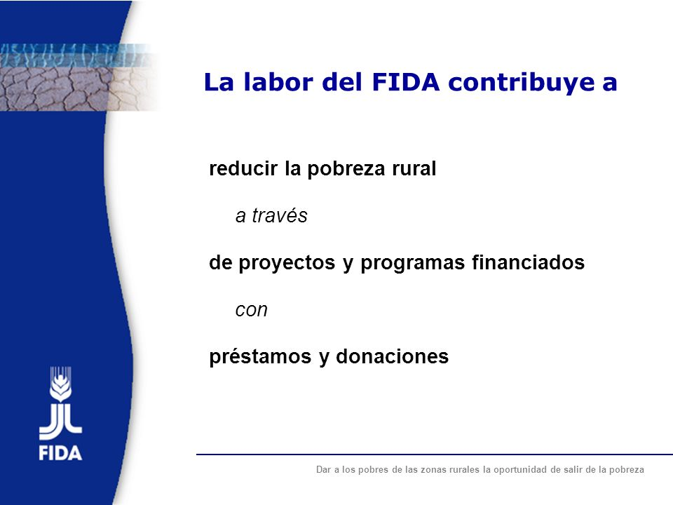 La labor del FIDA contribuye a