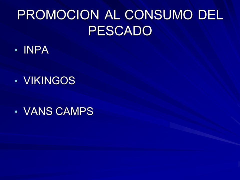 PROMOCION AL CONSUMO DEL PESCADO