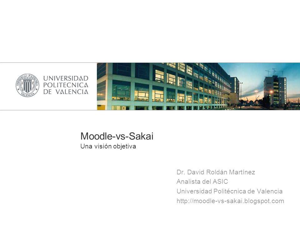 Moodle-vs-Sakai Una visión objetiva