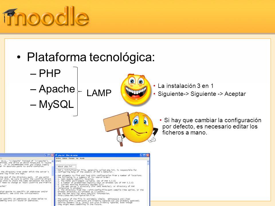 Plataforma tecnológica: