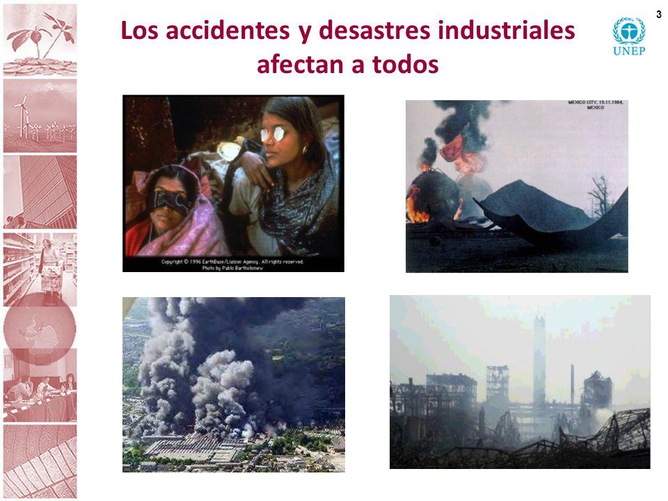 Los accidentes y desastres industriales afectan a todos