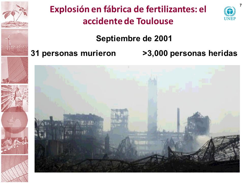 Explosión en fábrica de fertilizantes: el accidente de Toulouse