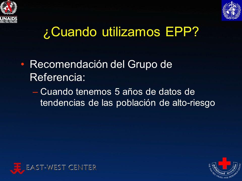 ¿Cuando utilizamos EPP