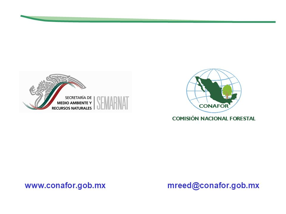 www.conafor.gob.mx mreed@conafor.gob.mx
