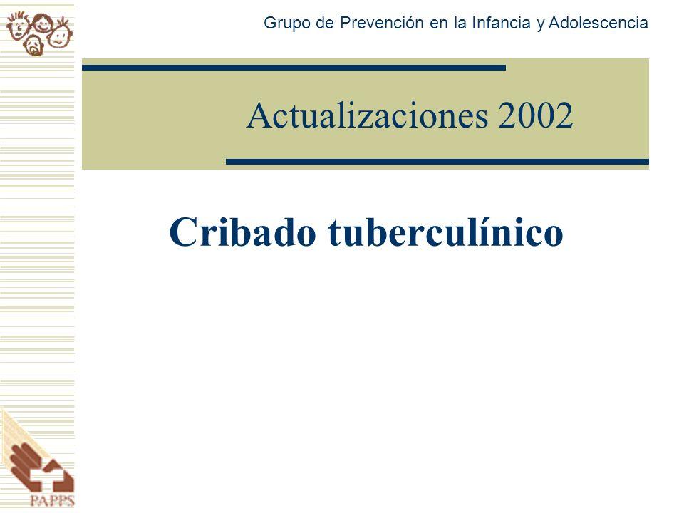 Cribado tuberculínico