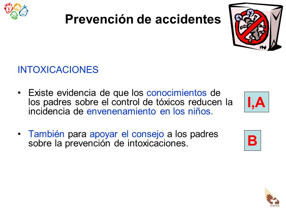 Prevención de accidentes