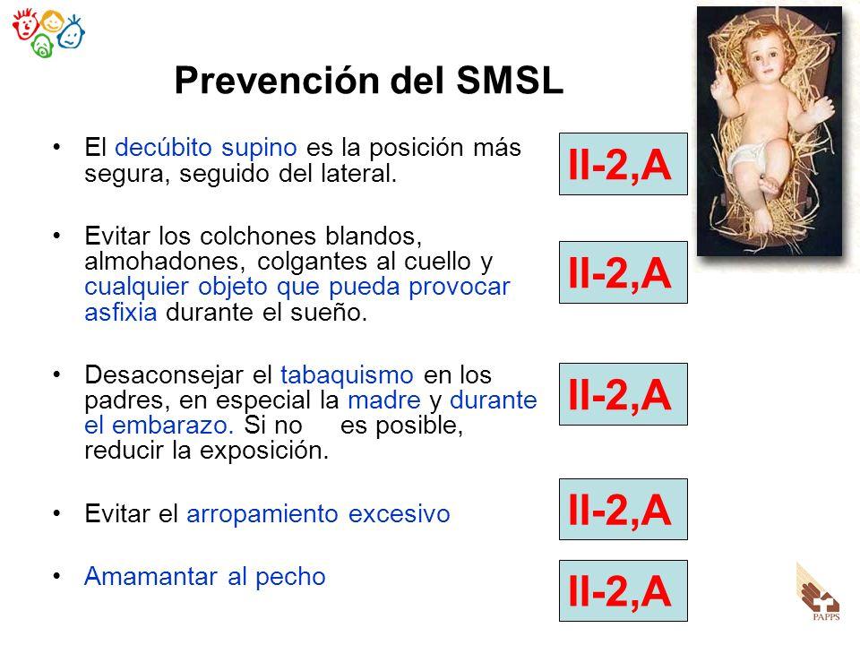 II-2,A II-2,A II-2,A II-2,A II-2,A Prevención del SMSL