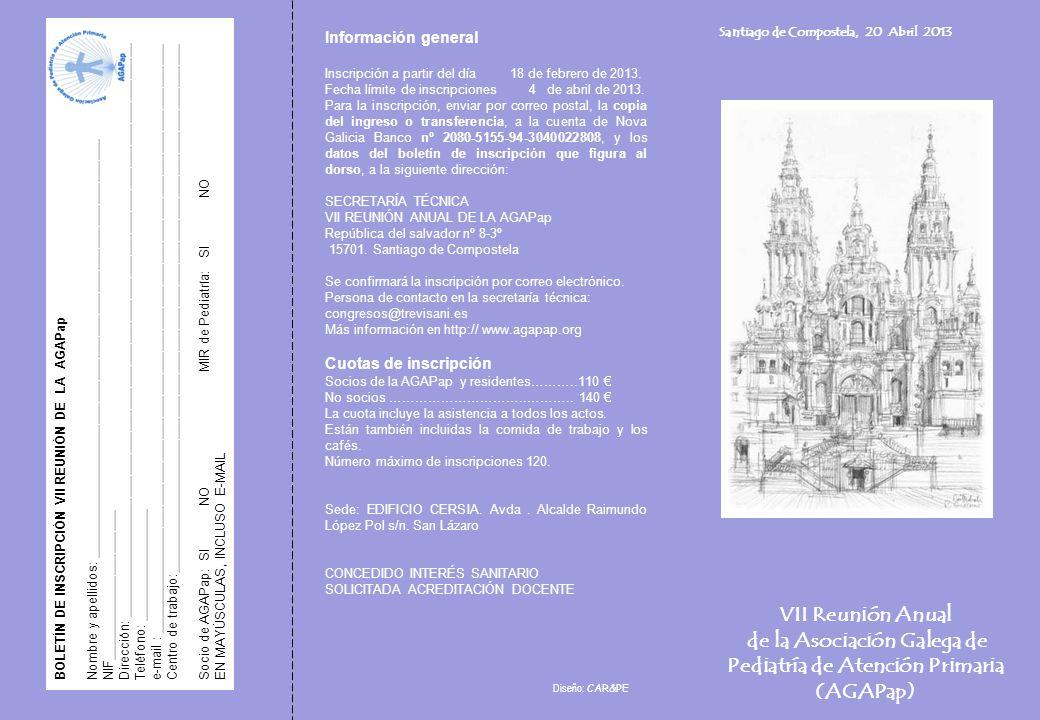 de la Asociación Galega de Pediatría de Atención Primaria (AGAPap)