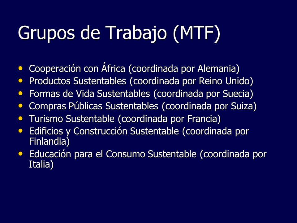 Grupos de Trabajo (MTF)