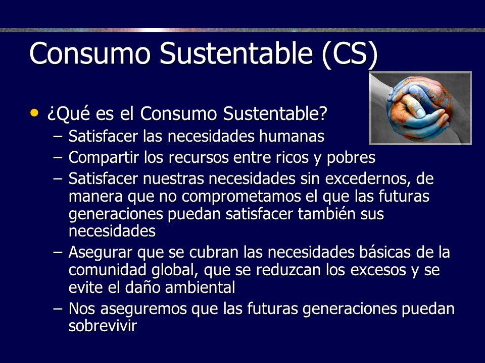 Consumo Sustentable (CS)