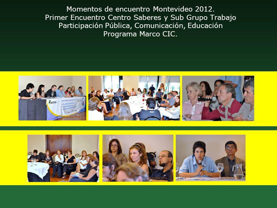 Momentos de encuentro Montevideo 2012