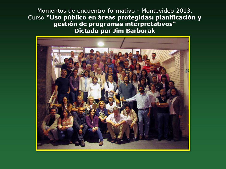 Momentos de encuentro formativo - Montevideo 2013