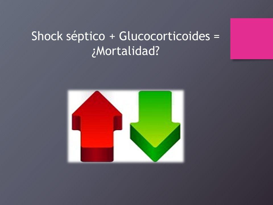 shock septico esteroides