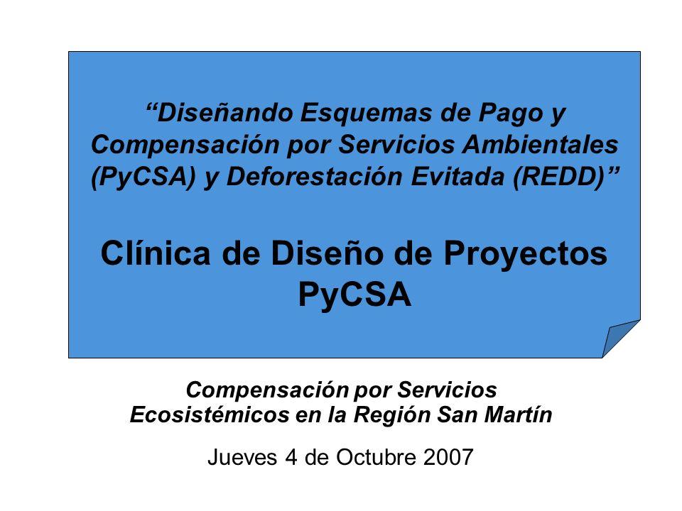 Clínica de Diseño de Proyectos PyCSA