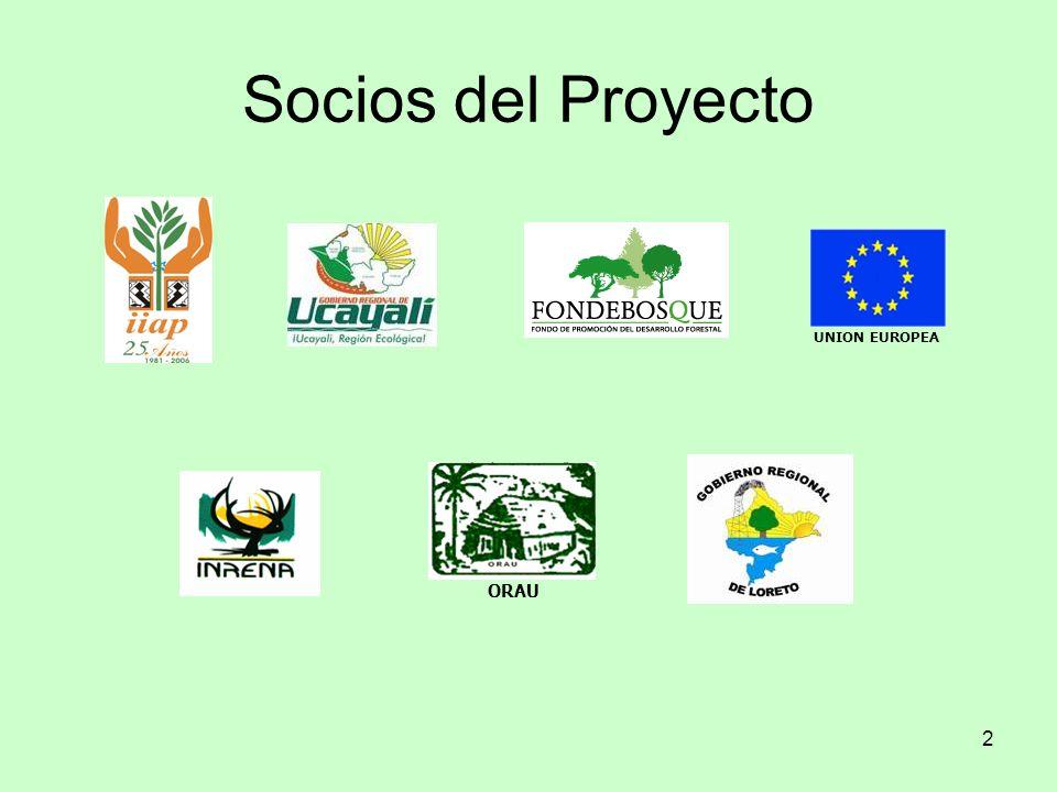 Socios del Proyecto UNION EUROPEA ORAU