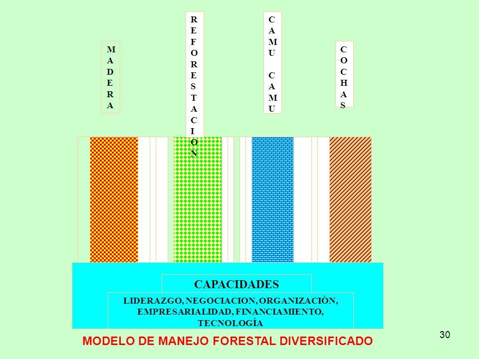 MODELO DE MANEJO FORESTAL DIVERSIFICADO