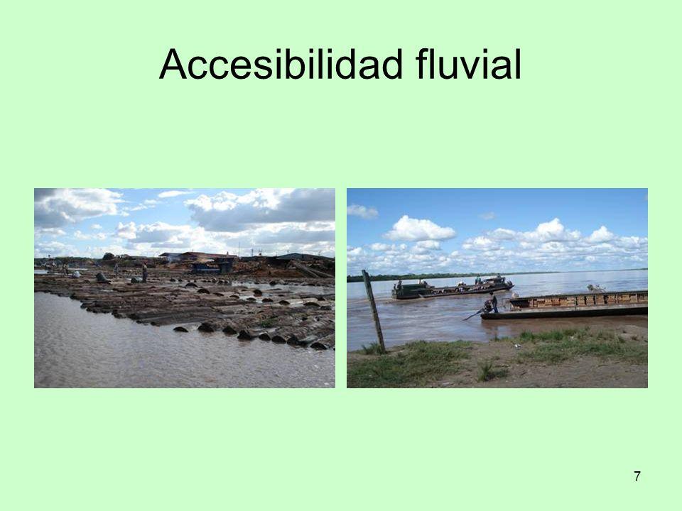 Accesibilidad fluvial