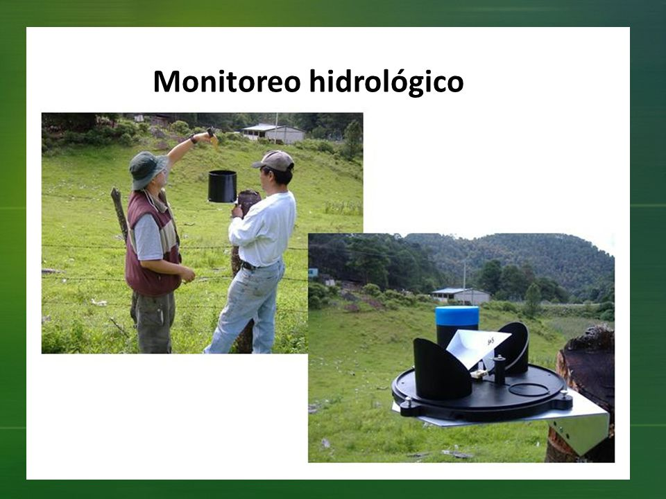 Monitoreo hidrológico