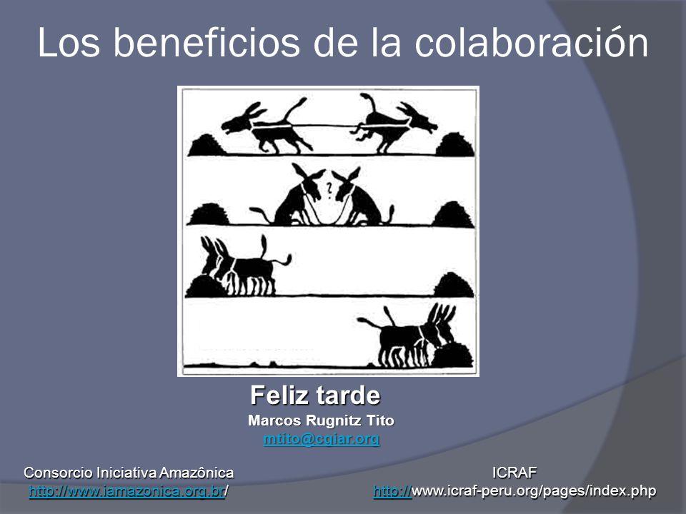 Los beneficios de la colaboración