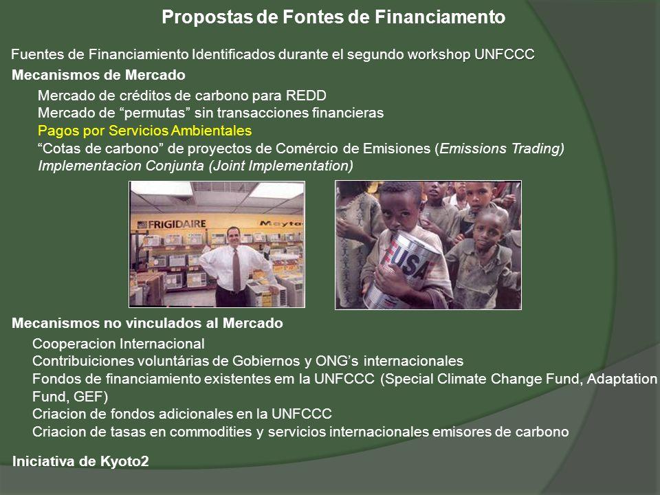 Propostas de Fontes de Financiamento