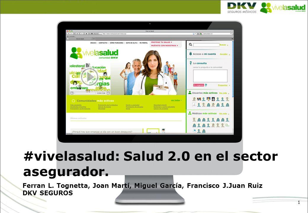 #vivelasalud: Salud 2.0 en el sector asegurador.