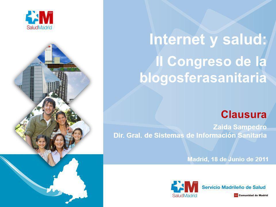 Internet y salud: II Congreso de la blogosferasanitaria Clausura